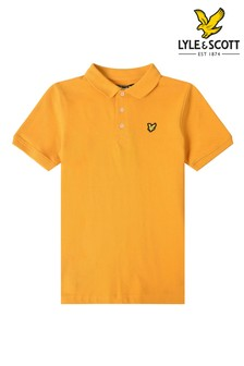قميص بولو كلاسيكي برتقالي منLyle & Scott