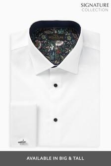 חולצה של Signature עם עיטורים באמרה