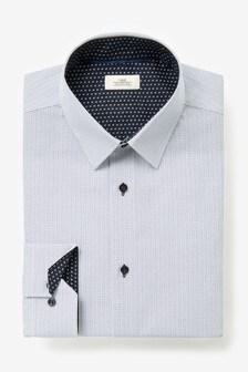 قميص مطبوع أشكال هندسية