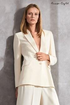 ז'קט חליפה של Phase Eight טבעי דגם Cadie