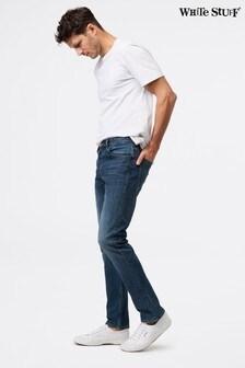 White Stuff Davis Slim Button Fly Jeans