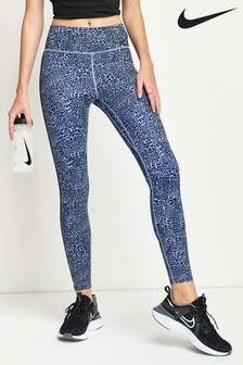 Nike One Leggings mit Animalprint