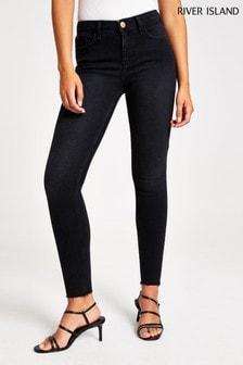 River Island Black Amelie Nightshade Jeans