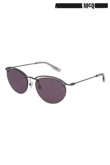 نظارة شمسية مستديرة بدون إطارMcQ منAlexander McQueen