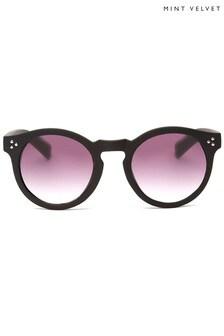 نظارة شمسية سوداء مرصعةKos منMint Velvet