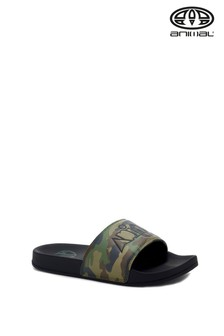 Animal Camo Slyde Sliders