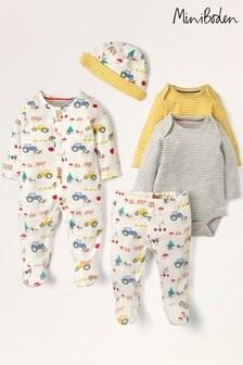 Boden Ivory 5 Piece Newborn Gifting Set