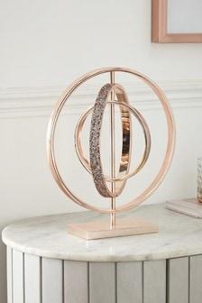 Rose Gold Harper Gem Sculpture