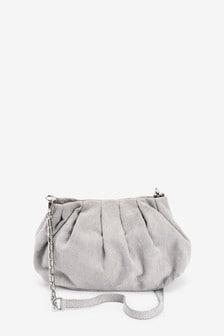 Маленькая мягкая сумка-клатч