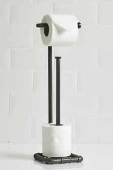 Porte-rouleau et range-rouleaux de papier toilette Hudson