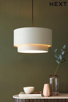 غطاء مصباح سهل التركيب كبير عسلي مستويين Rico