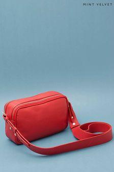 Mint Velvet Maya Red Cross Body Bag