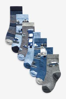 Cotton Rich Socks 7 Pack
