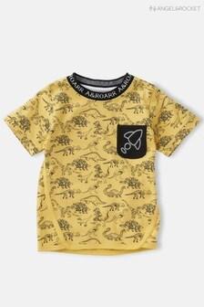Koszulka z nadrukiem dinozaura Angel & Rocket