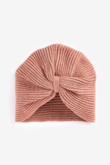 Knitted Turban Hat (Younger)