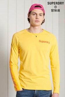 Superdry Core Logo Cali Raglan Long Sleeved Top