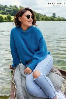 Sweter Emma Willis z okrągłym dekoltem