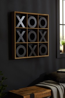 Noughts And Crosses Wall Game