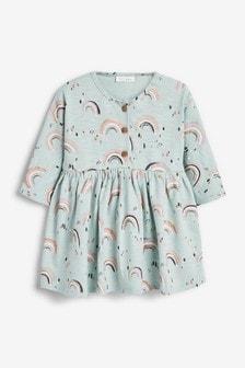 Платье с радужным принтом (0 мес. - 2 лет)
