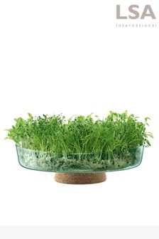 Lsa International Canopy Recycled 28cm Planting Bowl Planter (A01732)   $83