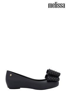 Melissa Black Ultra Girl Bow Shoes