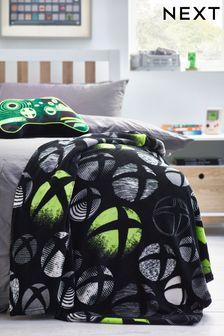 Black Xbox Supersoft fleece Throw