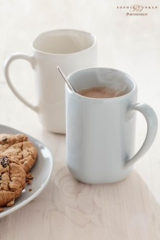 Set of 4 Sophie Conran Arbor Grey Mugs