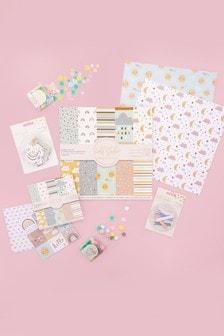 Set of 6 Violet Studio Baby Themed Paper Craft Kit