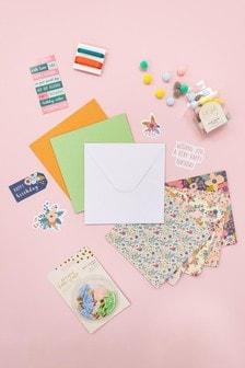 Set of 3 Violet Studio Floral Themed Card Making Set