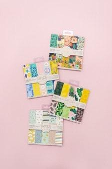 Set of 4 Violet Studio 15cm Patterned Paper Craft Pads