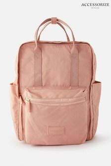 Розовый парусиновый рюкзак Accessorize Frida