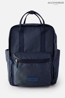 Синий парусиновый рюкзак Accessorize Frida