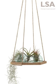 Lsa International Canopy Recycled Hanging 29cm Planter Set (A02772) | $138