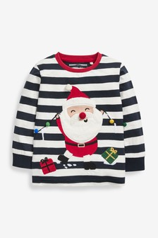 Long Sleeve Christmas T-Shirt (3mths-8yrs)
