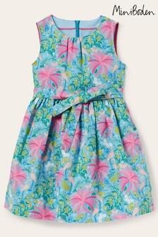Boden Vintage-Kleid, Blau