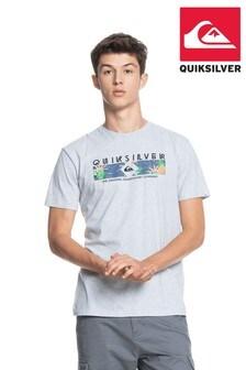 Quiksilver Grey Distant Shores T-Shirt