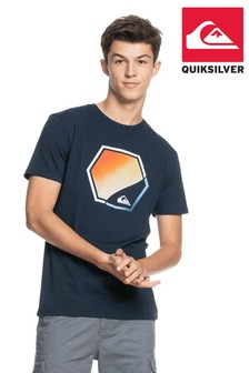 Quiksilver Blue Fading Out T-Shirt