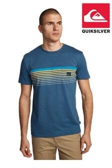 Quiksilver Blue Slab Pocket Screen T-Shirt