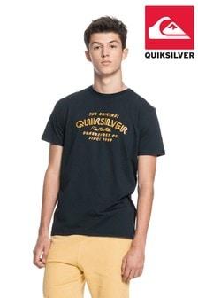 Quiksilver Black Wider Mile T-Shirt