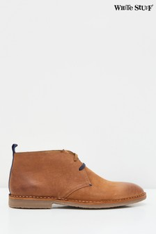 White Stuff Tan Nubuck Desert Boots