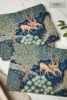 Set of 6 Morris & Co. Whightwick Placemats