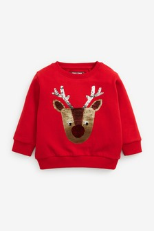 Christmas Sweatshirt (3mths-7yrs)