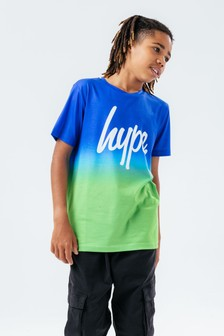 Hype. Blue Fade T-shirt (A04895)   $25 - $28