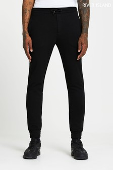 River Island Black The Ultimate Joggers