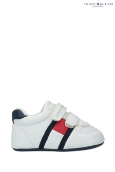 Tommy Hilfiger Trainers Flag Velcro Crib Shoes