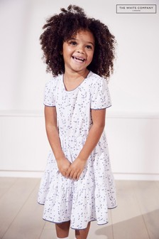 The White Company Blair Floral Jersey Dress