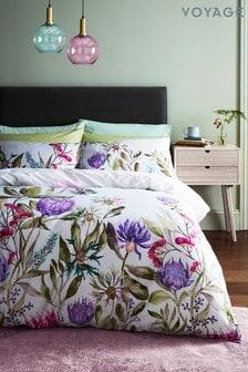 Voyage Violet Fortazela Duvet Cover and Pillowcase Set