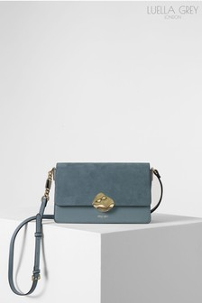 Luella Grey London Esme Molten Lock Cross Body Handbag