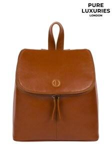 Pure Luxuries London Marbury Leather Backpack