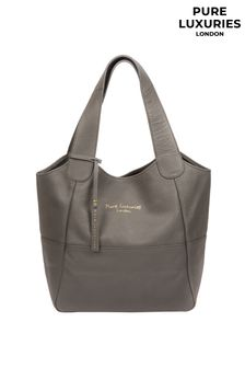 Pure Luxuries London Freer Leather Tote Bag